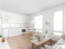 Kuva asunnosta B 51, 45 m2.