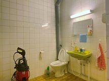 wc toimitiloissa