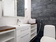 Erillinen wc takkahuoneen yhteydessä