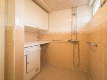 Kylpyhuoneessa kodinhoitotila