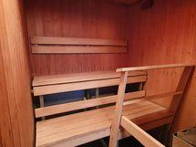 Taloyhtiön sauna sisältyy vuokraan