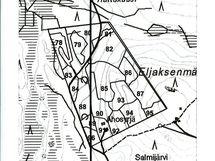 Metsätila kartalla