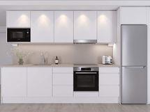 Visualisointi lisähintaisesta Dyyni-keittiötyylistä