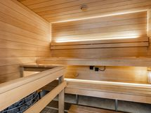 Yhtiön sauna samassa rapussa