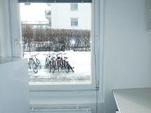 Keittiön ikkuna.