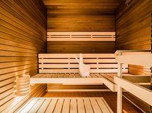 Taloyhtiön sauna samassa kerroksessa