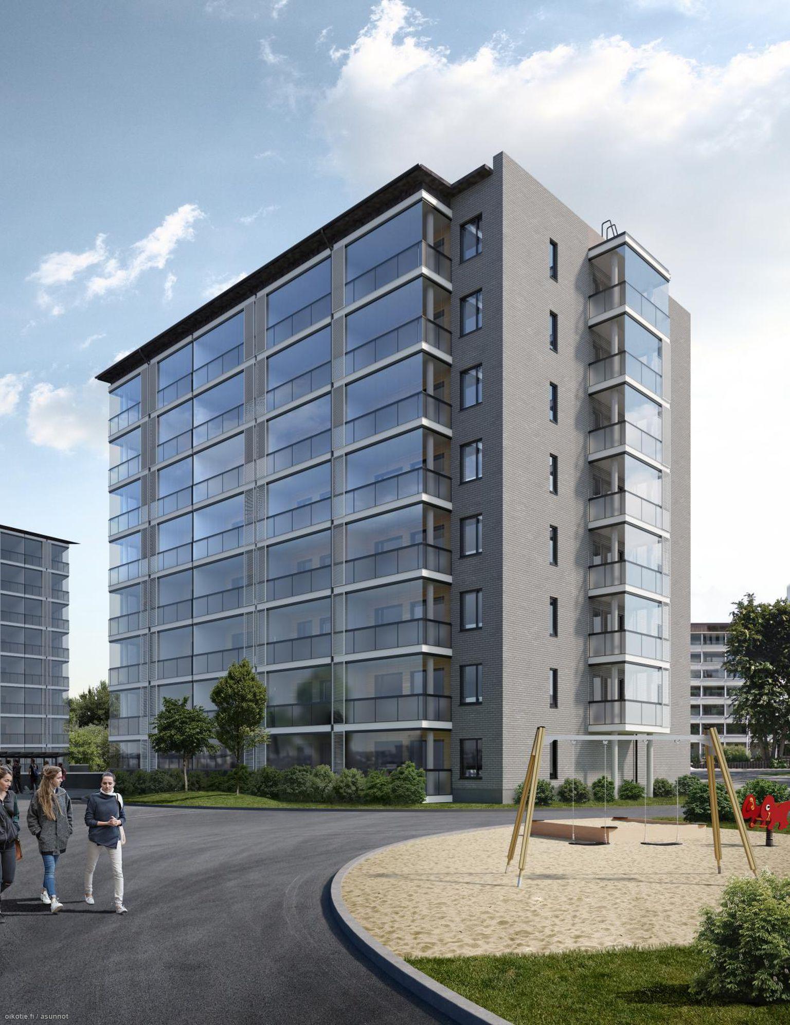 49 m² Kirkkotie 2 G 257, 20540 Turku Kerrostalo Kaksio myynnissä - Oikotie 14731320