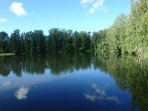 Lähellä sijaitseva uimapaikka.