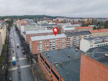 Tampereen TyöväenTeatterin kulmalta
