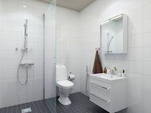 Taiteilijan näkemys kylpyhuoneesta