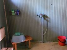 Kylpyhuone mikä kaipaa remonttia
