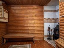 alakerrassa vanha sauna