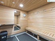 Taloyhtiön saunatilat on kunnostettu linjasaneerauksen yhteydessä.