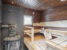 upea sauna, valmius sähkö kiukaalle