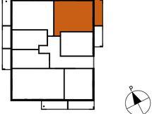 Asunnon B49 sijainti kerroksessa