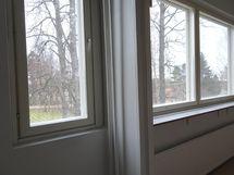 keittiö ja olohuoneen ikkunat