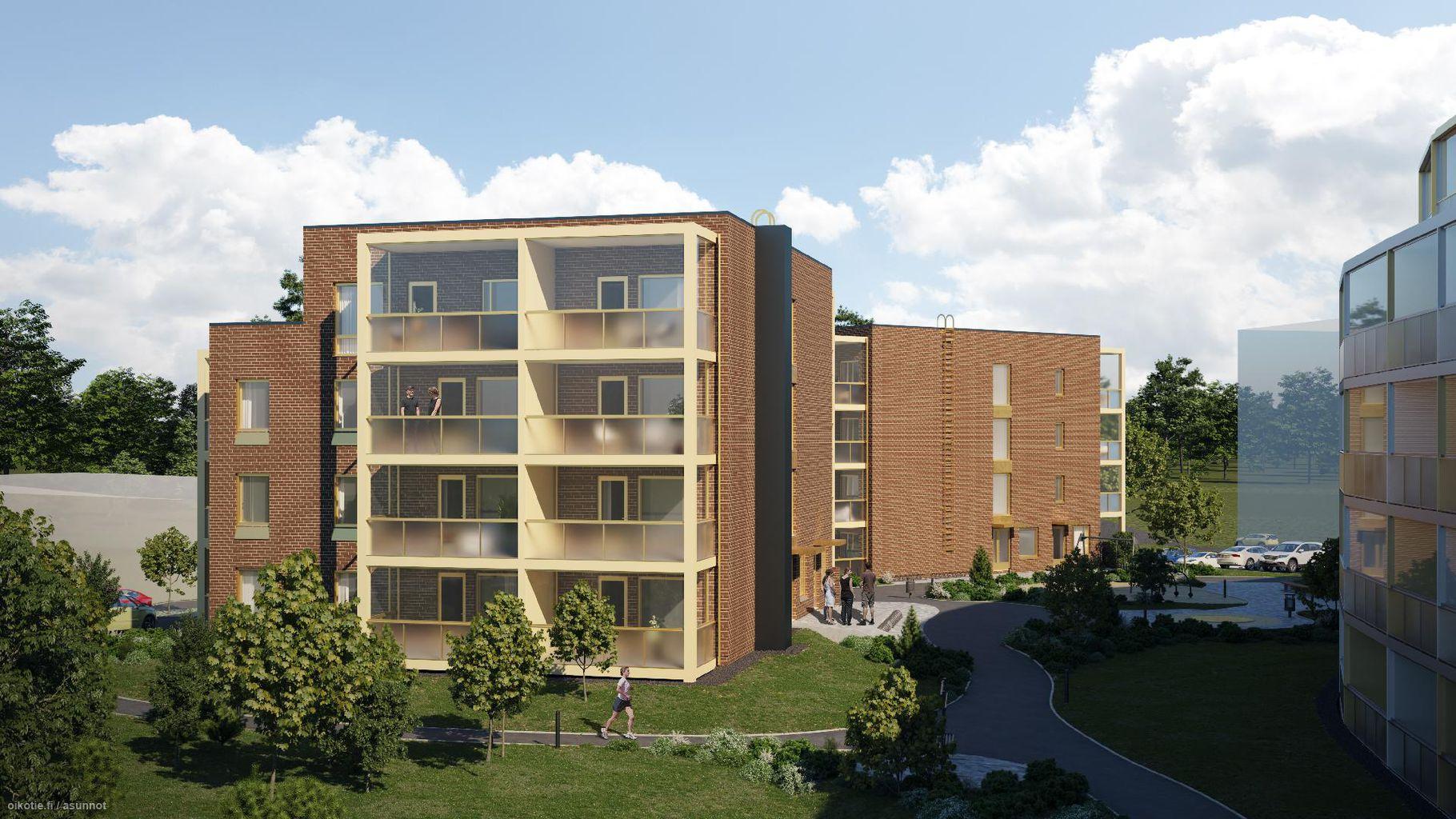 47,5 m² Paapuuri 4 B 35, 02330 Espoo Kerrostalo Kaksio myynnissä - Oikotie 14707373