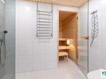 Pesuhuone täysin uudistunut ja WC-istuin lisätty remontissa
