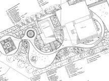 Puutarhasuunnitelma English Cottage Garden