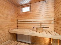 Sauna ikkunalla