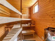 Sauna rakennettu 2008