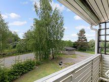 Näkymät parvekkeelta / Utsikt från balkongen