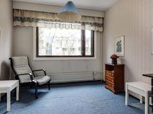 Makuuhuone 1 on pienin makkari