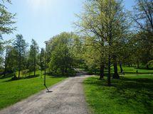 Tähtitorninvuoren puisto on lähes vieressä