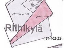 Myytävät määräalat yht. n. 1ha, jossa 2 kpl rakennuspaikkaa.