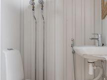 PArvitilojen yhteydessä wc-tila.