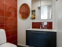 Erillinen, komea wc