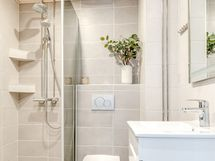Kylpyhuone on remontoitu v. 2019