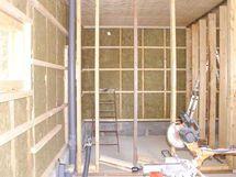 Talousrakennus rakennusvaiheessa