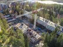 Puijon Kuusitiaisen rakennustytö ovat alkaneet.