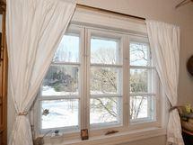 Rauhalliset näkymät ikkunasta