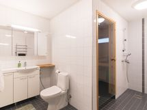Alakerran kph - Nedre badrummet