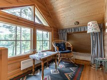 Parven makuuhuone - Loftets sovrum