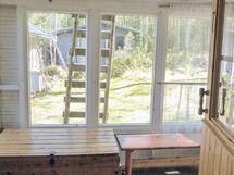 saunasta katetulle kuistille, josta voisi tehdä pu