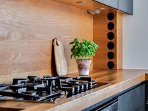 Kaasuliesi keittiössä