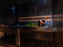 Upea sauna, uusittu 2009