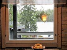 Keittiö/ruokailutilan ikkunanäkymiä