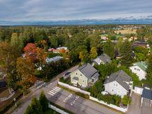 Järvenperän kylämäinen kortteliyhteisö, jossa talot on rakennettu samoihin aikoihin.