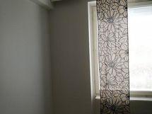 Olohuoneen seinää