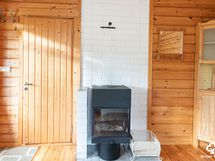 Takkahuone saunarakennuksessa