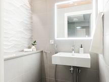 WC saunaosastolla