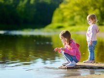 Luonto on aina lähellä ja Tuomiojärvikin sijaitsee vain kivenheiton päässä.