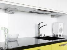 Moderni keittiö, laadukkaat kodinkoneet