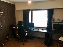 Keskikerroksen makuuhuone/olohuone