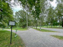 Kupittaanpuisto löytyy läheltä