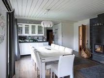 Hyvä tilaa olohuoneessa ja keittiössä
